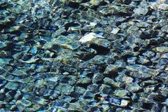 Agua y piedra hermosas Imagen de archivo