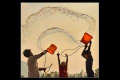 Agua y vida fotografía de archivo
