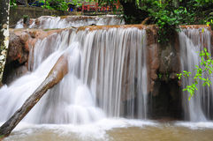 aguaazulmexico vattenfall Royaltyfri Bild