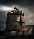 堡垒Aguada,果阿 免版税图库摄影