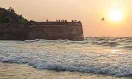 Aguada fort Zdjęcie Stock