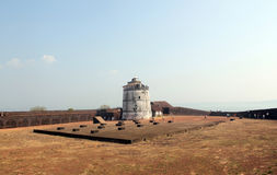 Aguada fort, Goa, India Royalty Free Stock Photos