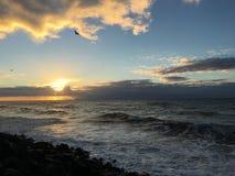 Aguadilla-Sonnenuntergang Stockfoto