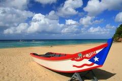 aguadillastrandcrashboat Puerto Rico Arkivbild