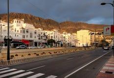 Aguadulce miasta droga Hiszpania Zdjęcie Royalty Free