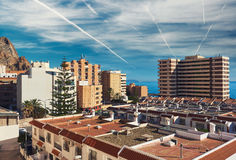 Aguadulce-Stadt spanien Lizenzfreie Stockfotos