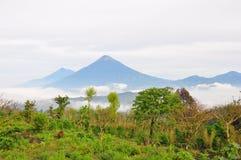 aguaguatemala vulkan arkivbild
