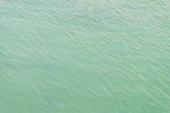 Aguamarina tranquila del agua Foto de archivo libre de regalías
