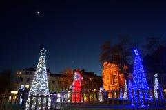 Aguardar la Navidad Imagen de archivo libre de regalías