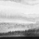 A aguarela abstrata pintou o fundo Imagem de Stock