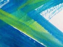 A aguarela abstrata pintou o fundo ilustração royalty free