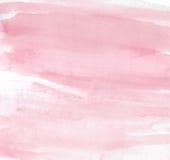 Aguarela cor-de-rosa ilustração stock