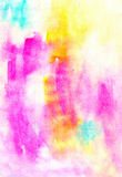 Aguarelle painting background design image Royalty Free Stock Image