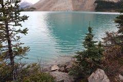 Aguas azules del glaciar Imágenes de archivo libres de regalías