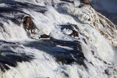 Aguas azules del río Blanco Imagen de archivo libre de regalías