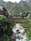 Aguas Caliente de Perú - de Machu Picchu Foto de archivo libre de regalías
