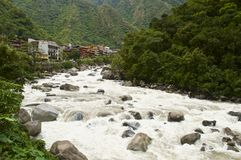 Aguas Calientes Obraz Royalty Free