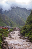 Aguas Calientes, Cuzco, Peru Stock Photo
