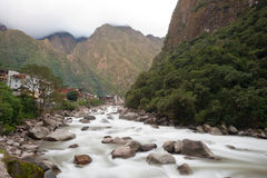 Aguas Calientes, Peru Royalty Free Stock Images