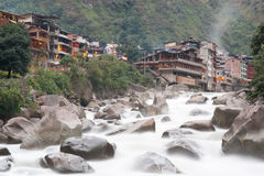 Aguas Calientes, Peru Stockbild