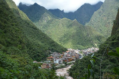 Aguas Calientes, Peru Royalty Free Stock Photo