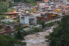 Aguas Calientes, Peru. Stock Photos