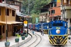 AGUAS CALIENTES PERU, Wrzesień, - 10, 2014: Zdjęcia Royalty Free