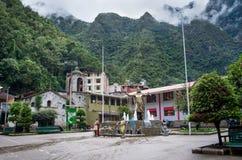 Aguas Calientes w Peru (Mach Picchu) Fotografia Stock