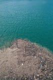 Aguas contaminadas Fotografía de archivo libre de regalías