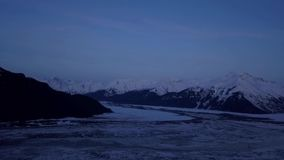Aguas de Alaska heladas metrajes