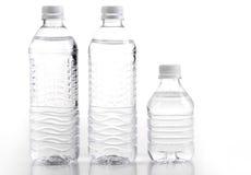 Aguas de botella Imagenes de archivo