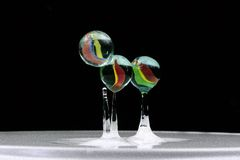 Aguas del mármol Imagen de archivo