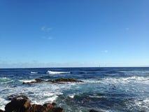 Aguas del océano Fotos de archivo libres de regalías