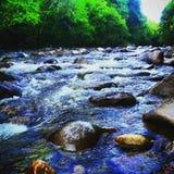 Aguas más tranquilas Fotografía de archivo libre de regalías
