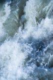 Aguas que dicen con excesiva efusión Fotografía de archivo