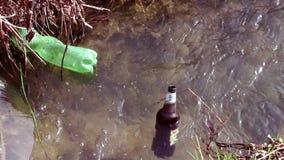 Aguas tóxicas almacen de video