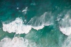 Aguas tempestuosas Fotografía de archivo libre de regalías
