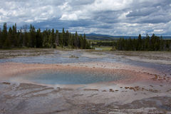 Aguas termales Imagen de archivo libre de regalías