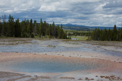 Aguas termales Foto de archivo
