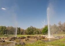 Aguas termales Fotografía de archivo libre de regalías