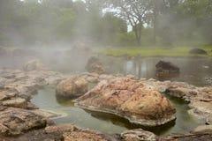 Aguas termales Imagenes de archivo