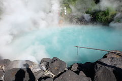 Aguas termales de Beppu Onsen Fotos de archivo