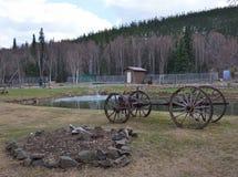 Aguas termales de Chena Foto de archivo libre de regalías
