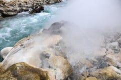 Aguas termales de Cuopu Imagen de archivo