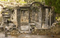 Aguas termales de Hamat Gader Foto de archivo libre de regalías