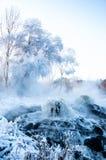 Aguas termales del géiser Foto de archivo libre de regalías