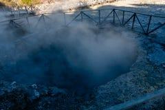 Aguas termales, Furnas, sao Miguel Island, Azores, Portugal imagen de archivo