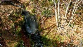 Aguas termales naturales de la montaña metrajes