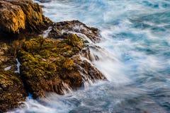 Aguas turbulentas Foto de archivo