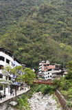 Aguascaliente Mach Picchu osada Obrazy Stock